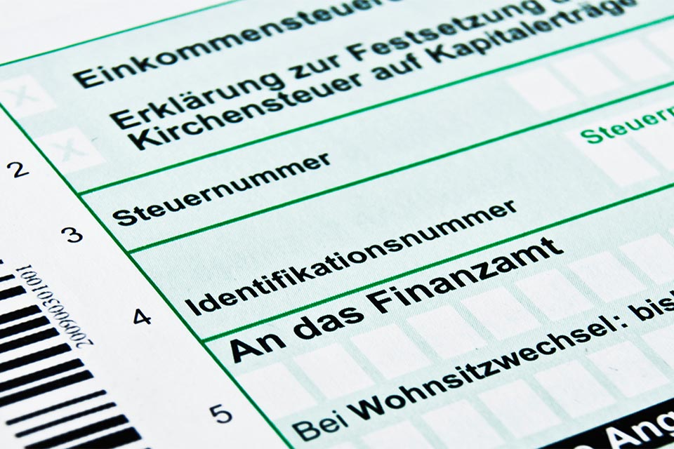 Steuererklärunng